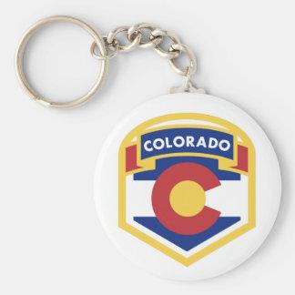 COLORADO STATE FLAG zazzle Key Ring