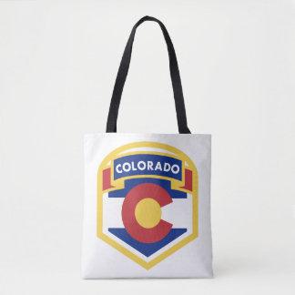 COLORADO STATE FLAG zazzle Tote Bag