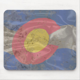 Colorado State Silk Flag Mouse Pad