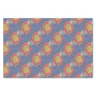 Colorado State Silk Flag Tissue Paper