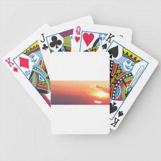 Colorado Sunset Bicycle Playing Cards