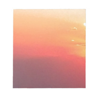 Colorado Sunset Notepad