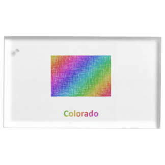 Colorado Table Number Holder
