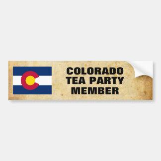 COLORADO TEA PARTY BUMPER STICKER