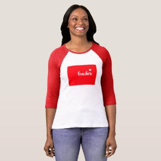 Colorado Teacher Tshirt (Red)