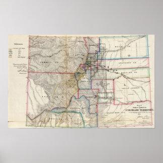 Colorado Territory Poster