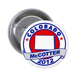 Colorado Thad McCotter Pinback Button