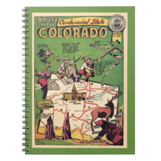 Colorado the Centennial State Notebook