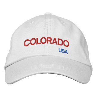 Colorado USA Colorful Cap Embroidered Hats