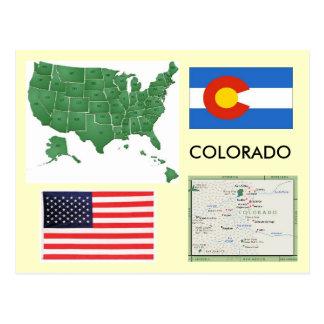 Colorado USA Postcard