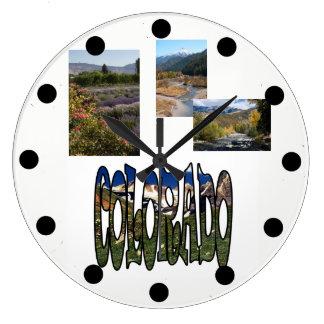 Colorado Vacation Template Photo Clock