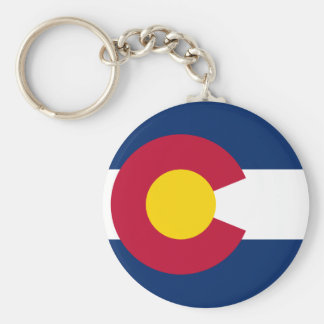 Colorado's Flag Keychains