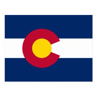 Colorado's Flag Postcard