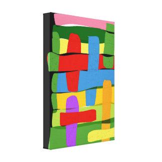 Coloration Canvas Print