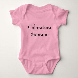 Coloratura Soprano Baby Bodysuit