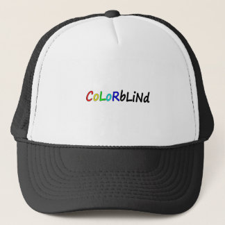 Colorblind Trucker Hat