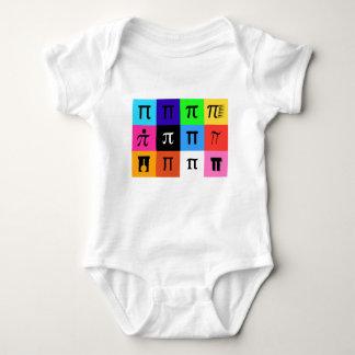 colorblock happy pi day baby bodysuit