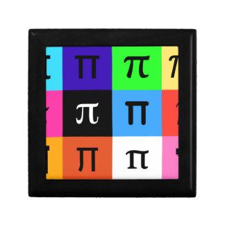 colorblock happy pi day gift box