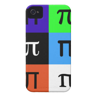 colorblock happy pi day iPhone 4 covers