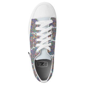colorblocks printed shoes