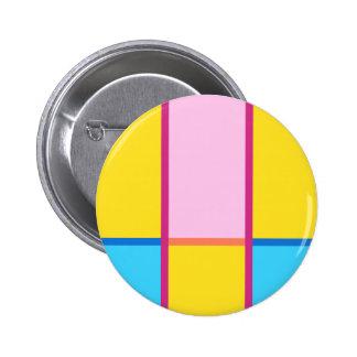 #ColorBlocks Summer Dreaming 6 Cm Round Badge