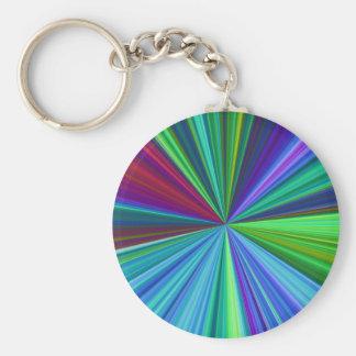 Colorburst Key Ring