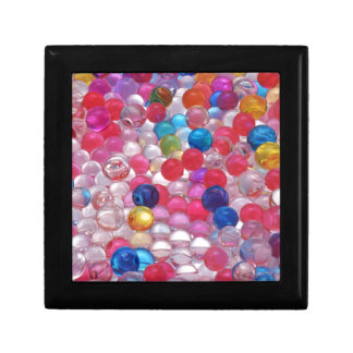 colore jelly balls texture gift box
