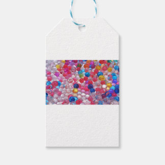 colore jelly balls texture gift tags