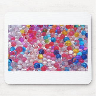 colore jelly balls texture mouse pad
