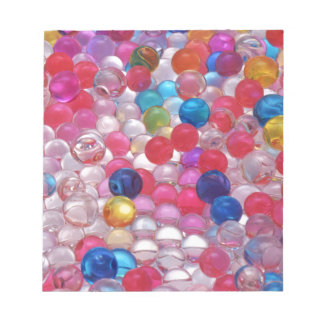 colore jelly balls texture notepad