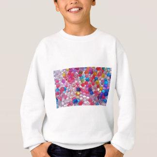 colore jelly balls texture sweatshirt