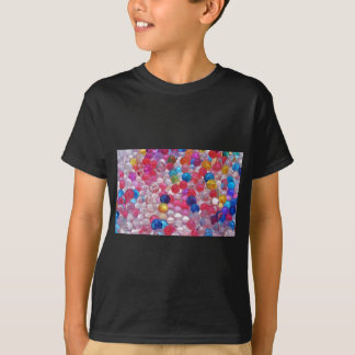 colore jelly balls texture T-Shirt