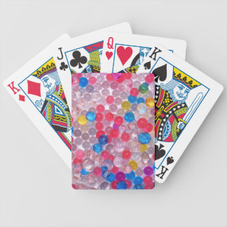 colore water balls bicycle playing cards