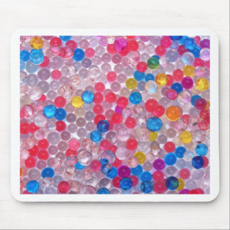 colore water balls mouse pad