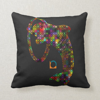 Colored 3D Dolphin Cushion
