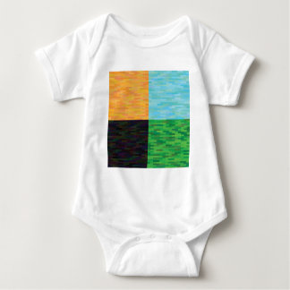 colored background baby bodysuit