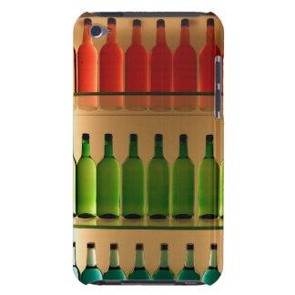 Colored bottles case