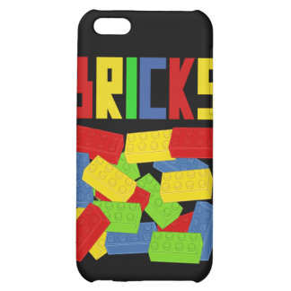 Colored Bricks by Customize My Minifig Cover For iPhone 5C