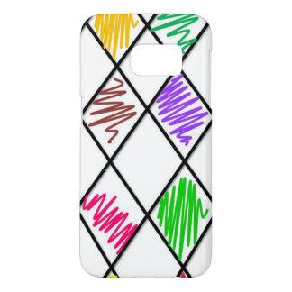 Colored checker case