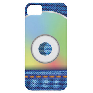Colored disc iPhone 5 case