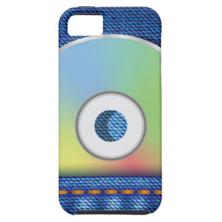 Colored disc tough iPhone 5 case