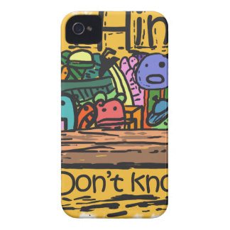 Colored Doodle iPhone 4 Case-Mate Case