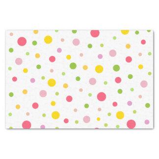 Colored Drops Tissue Paper