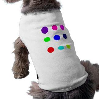 Colored Eggs Sleeveless Dog Shirt