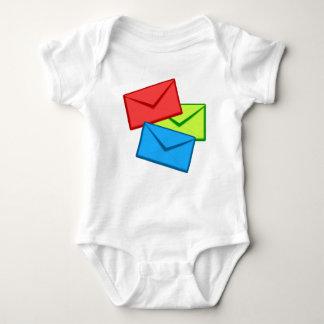 Colored Envelopes Baby Bodysuit