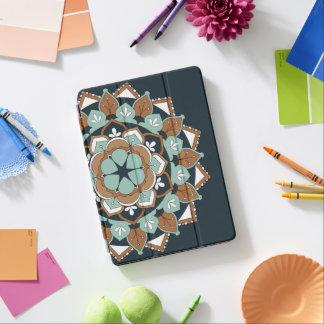 Colored Floral Mandala  060517_1 iPad Pro Cover