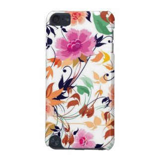 colored floral standard iPod touch (5th generation) cover