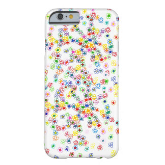 Colored Flowers Barely There iPhone 6 Case