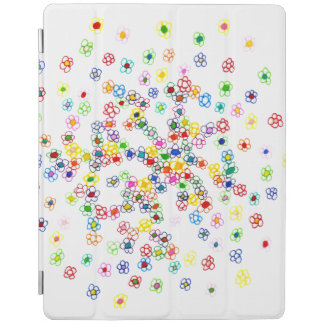 Colored Flowers iPad Smart Cover