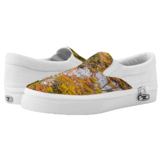 Colored Forest Landscape Scene, Patagonia Printed Shoes